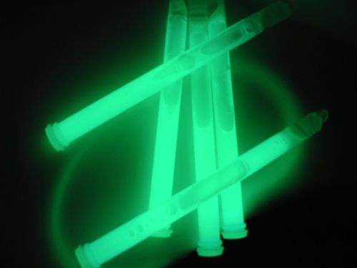 4in Light Sticks - Green