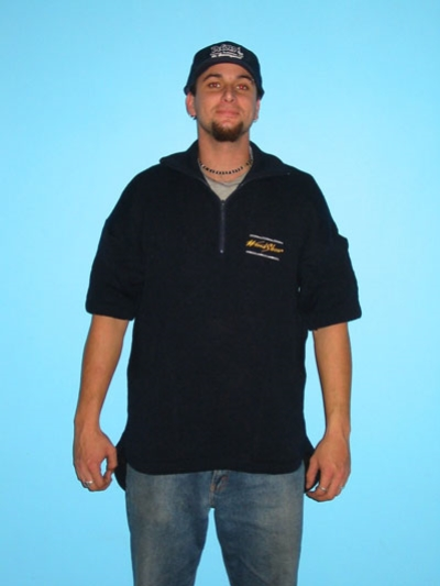 Short Sleeve/2Pocket/Hood