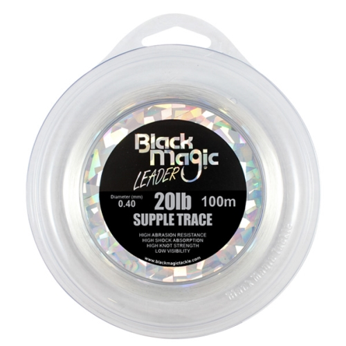 Black Magic Supple Trace 20lb x 100m