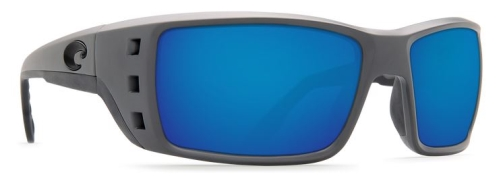 Permit Matte Grey Blue Mirror 580G