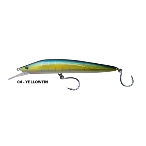 Bluewater Saury 230 Yellowfin Lure
