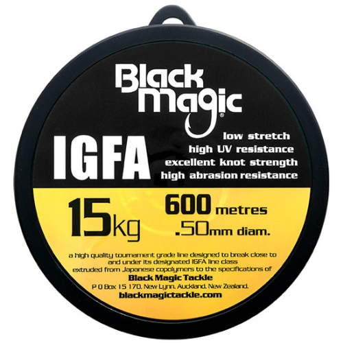 Black Magic IGFA Mono 15kg Clear (600M)