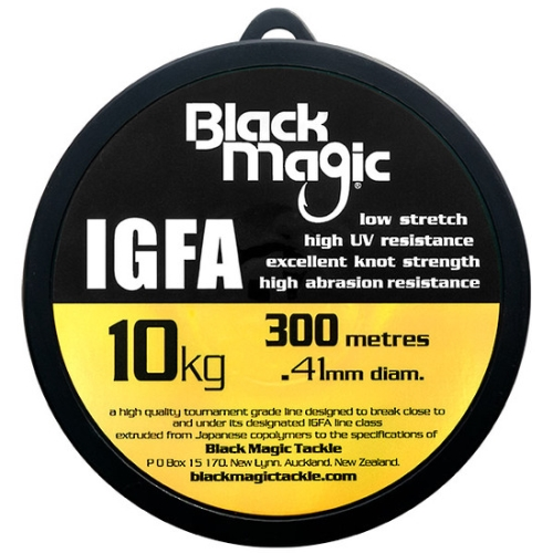 Black Magic IGFA Mono 10kg Clear (300M)