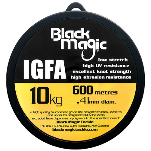 Black Magic IGFA Mono 10kg Clear (600M)