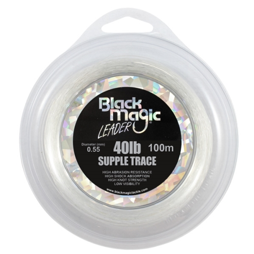Black Magic Supple Trace 40lb x 100m