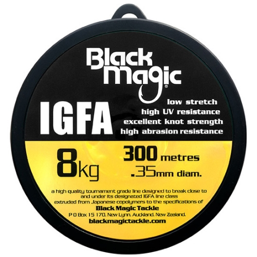Black Magic IGFA Mono 8kg Clear (300M)