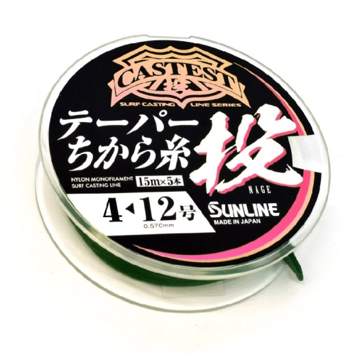 Sunline Tapered Line .33mm x 16lb x 220m