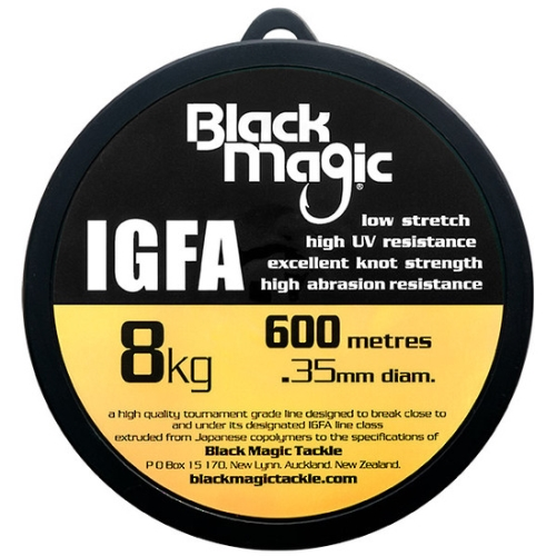 Black Magic IGFA Mono 8kg Clear (600M)
