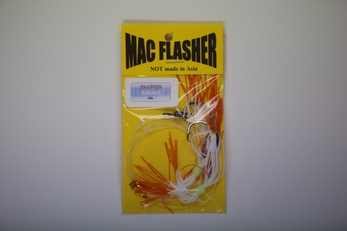 Mac Flasher Snapper Banquet  5/0c Brown