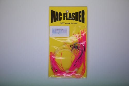 Mac Flasher Snapper Banquet  5/0c Pink