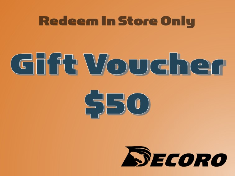 Decoro $50 Gift Voucher