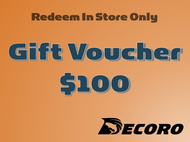 Decoro $100 Gift Voucher